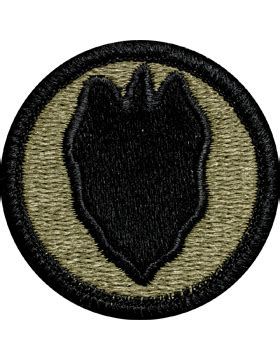 operational camouflage pattern unit patches ocp unit patch 24th infantry division with fastener