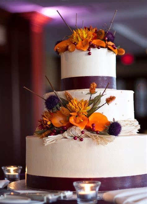 fall wedding ideas and invitations purple and orange wedding