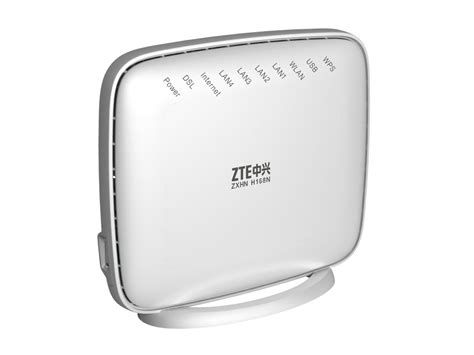 Modem Router Zte Zte Zxhn H168n 4 Port Wireless Vdsl Router Wootware
