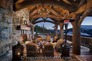 Treehouse Blue Ridge Mountains - timber frame home design log home pictures log home designs
