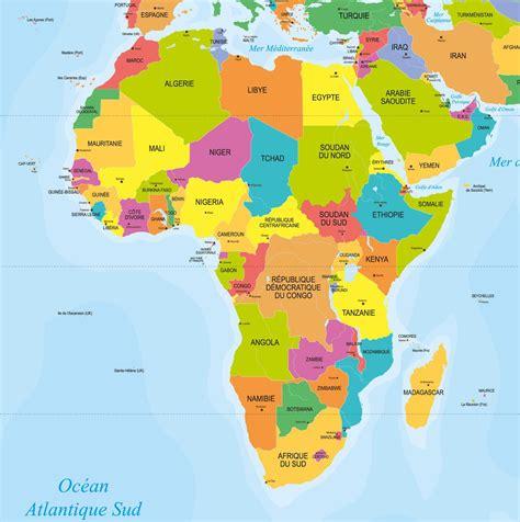 Carte De by Carte Afrique Pays Carte 2018