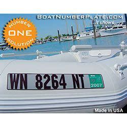 inflatable boat number plate boat number registration plate for inflatable boats