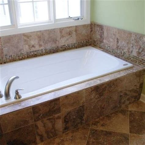 tile around bathtub tile around the tub bathroom pinterest