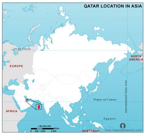 qatar in world map free qatar location map in asia qatar location in asia