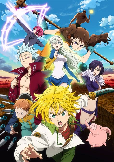 Anime 7 Deadly Sins Season 3 by Nanatsu No Taizai Season 2 To Run For 24 Episodes Otaku Tale