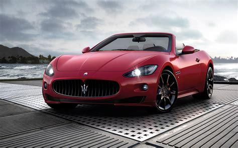 red maserati convertible red cars vehicles convertible maserati grancabrio