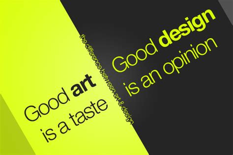 design art difference the difference between art and design webdesigner depot