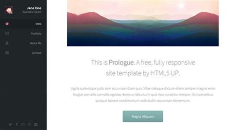 25 Free Responsive Html5 Css3 Website Templates Developer S Feed Responsive Website Templates Free Html5 With Css3