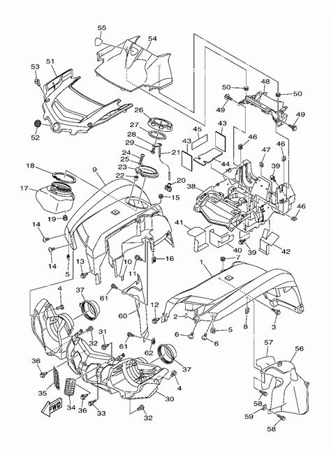 yamaha grizzly 700 wiring diagram free wiring