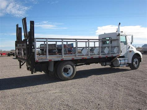 kenworth t300 for 2003 kenworth t300 flatbed truck for sale 245 027 miles