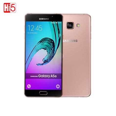 Android Samsung Ram 2 samsung galaxy a5 a5100 mobile phones 5 2 android dual sim msm8939 octa 2g ram 16g rom 13