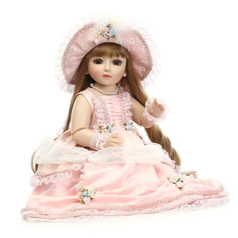 Boneka Princess 45cm New Vinyl Sd Bjd Joint Doll Boneka sd bjd 1 4 doll classical princess