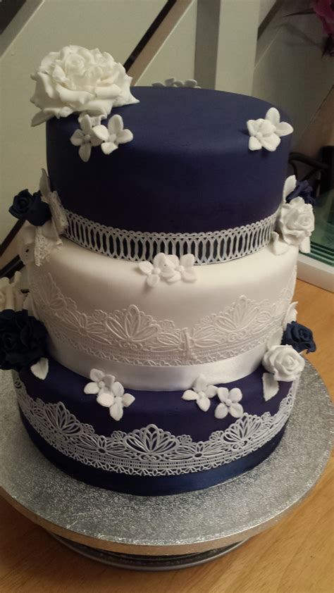 Wedding Cake Edible Lace by Vintage Edible Lace Wedding Cake Cakecentral