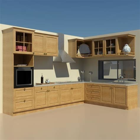 revit kitchen cabinets building rfa furniture kitchen revit
