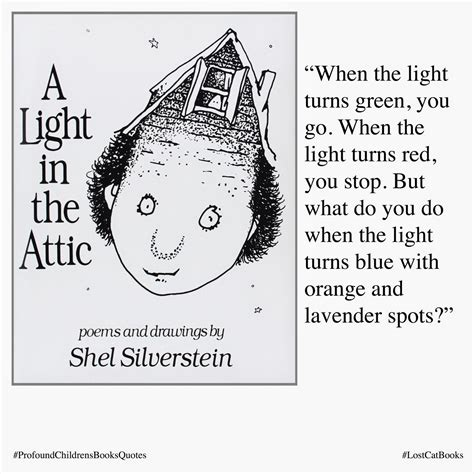 A Light In The Attic by Lost Cat Books Profound Quotes From Children S Books A