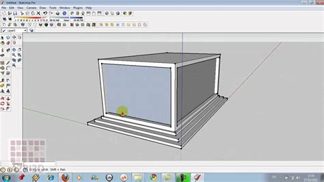 membuat rumah google sketchup google sketchup tutorial 01 perkenalan interface 1