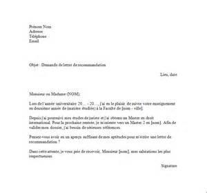 Exemple Lettre De Recommandation Bourse D étude Exemple Lettre De Recommandation Pour Bourse Document