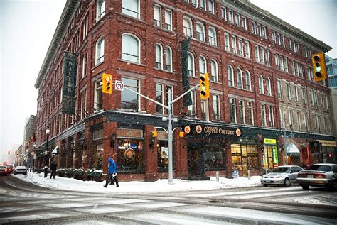 Kitchener Ontario Canada by File Coffee Culture And Other Storefronts In Kitchener S