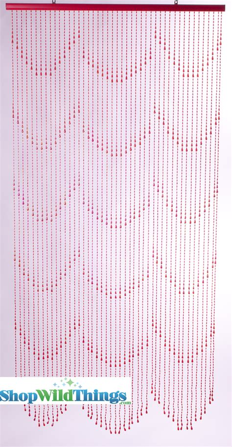 raindrop beaded curtains beaded curtains raindrops red iridescent red beaded