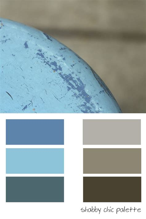shabby chic colors shabby chic cool color palette deck