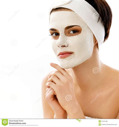 Masker Clay Pack spa mask in spa salon mask clay mask