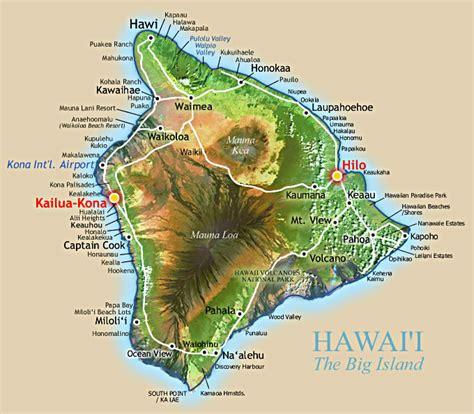 map of big island hawaii susan michael s wedding join us on the big island hawaii