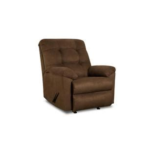 Recliner Armchair Simmons Upholstery Griffin Brown Contemporary Recliner