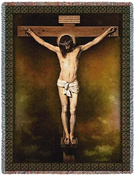 velazquez christ on the cross personalized the velazquez crucifixion easter