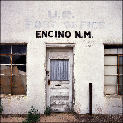 Encino Post Office abandoned post office in encino new mexico photograph by christopher