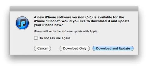 how to upgrade to ios 6 learn how to update to ios 6 via itunes iosorchard