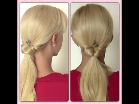 make cute everyday hairstyles simple ponytails ponytail super easy ponytail everyday ponytail easy hairstyle