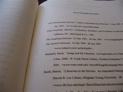 thesis bibliography in a haystack 171 reel librarians