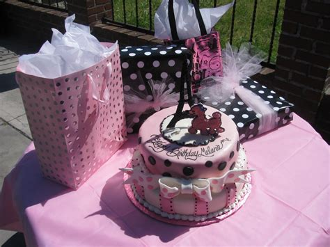 scrappin memories poodle  paris party theme   baby girl