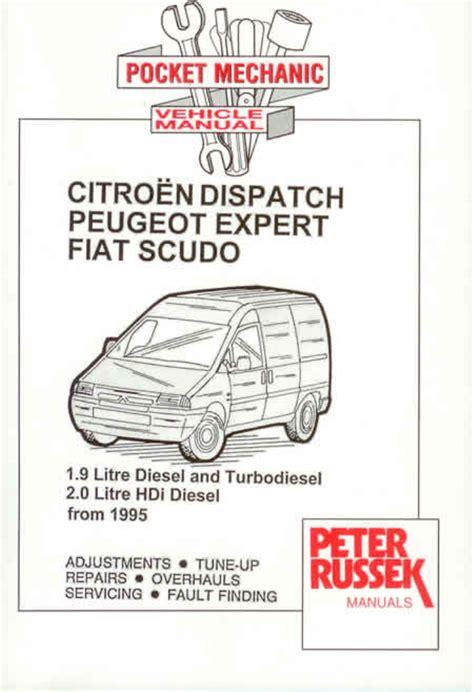 citroen dispatch fiat scudo peugeot expert new manual ebay
