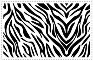 zebra template pin by dittman on wedding stuffs