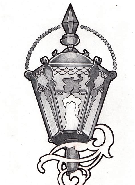 victorian design tattoo 15 lantern tattoos