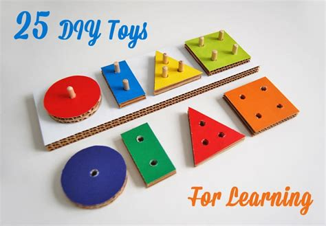 Handmade Educational Toys - diy toys that make learning pretty prudent