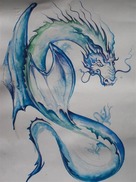 water dragon tattoo something you need to about 2012 the year of the