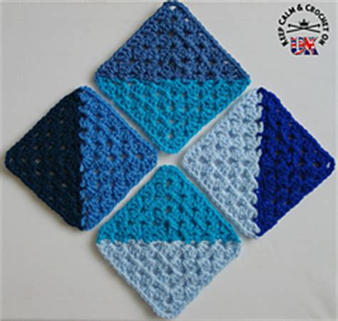 half diamond pattern in c ravelry half and half granny square pattern by heather c