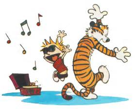 calvin hobbes dancing images amp pictures becuo