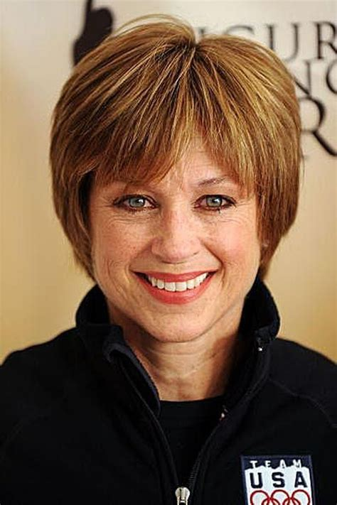 picture of dorothy hamill wedge haircut livesstar com dorothy hamill s famous wedge haircut photo gallery