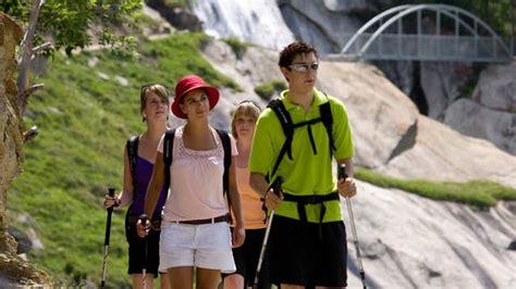 Wandlen Zurbrüggen by Saas Almagell Zwitserland Toerisme