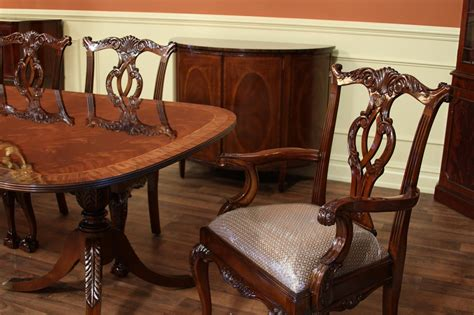 styles of dining room tables mahogany dining table and chairs federal style dining