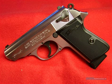 Walther Ppk S 22lr Nickel nib walther ppk s 22 lr nickel finish for sale