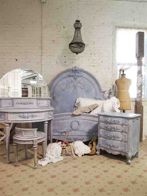 french cottage bedroom furniture painted cottage french blue bedroom set just my style
