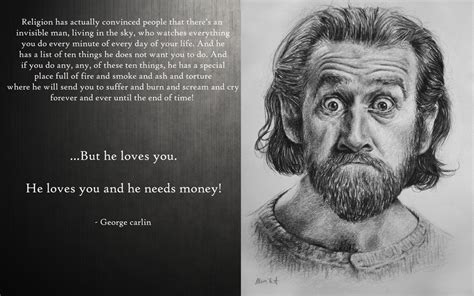 george carlin wise quotes  macerai  deviantart