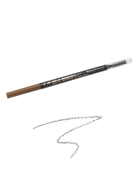 l a shady slim brow pencil l a soft brown shady slim brow pencil topic