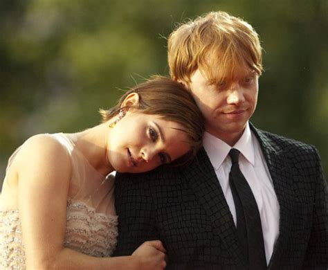 emma watson and rupert grint engaged on screen couples who belong together secrets of a good girl
