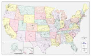 us map of counties one map place color u s county town