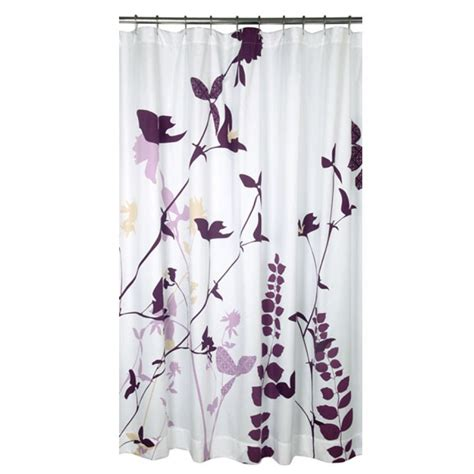 Designer Shower Curtains Decorating Purple Shower Curtains Design Ideas Chic Plus Inspirations Flower Savwi